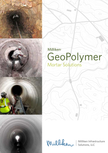 GeoPolymer Mortar Solutions